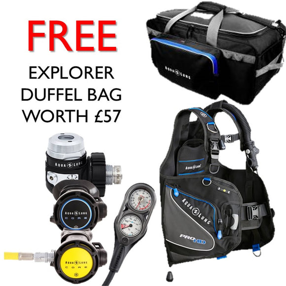 Explorers Diving Equipment Package - Oyster Diving Equipment