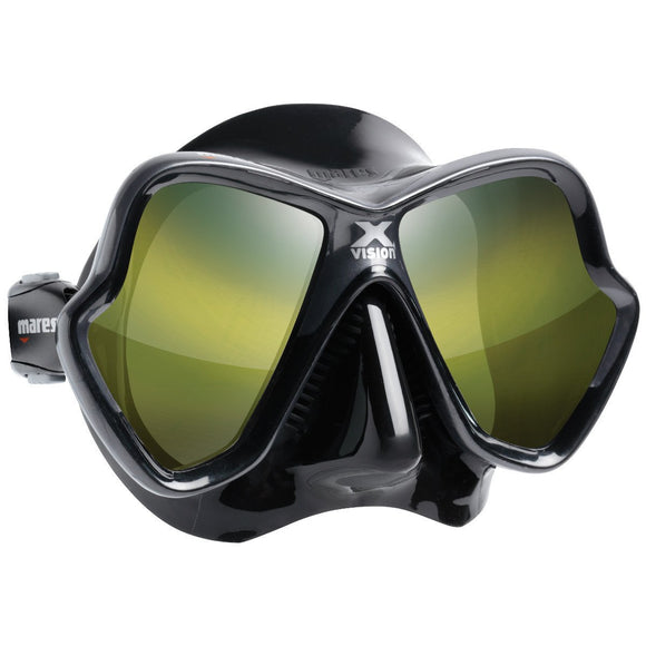 X-VISION ULTRA Liquidskin Mirrored Mask - Oyster Diving Equipment
