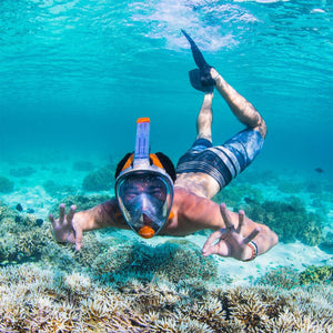 Aria Full-Face Mask and Snorkel - Oyster Diving Equipment