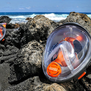 Aria Classic Full-Face Mask and Snorkel - Oyster Diving Equipment