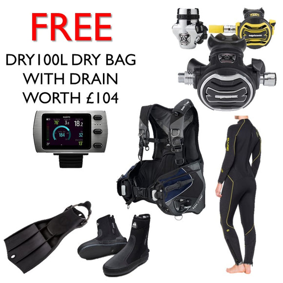 Platinum Diving Package - Oyster Diving Equipment