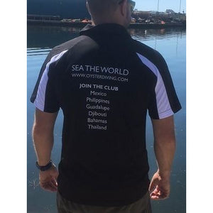 Oyster Diving Polo Shirt - Oyster Diving Equipment