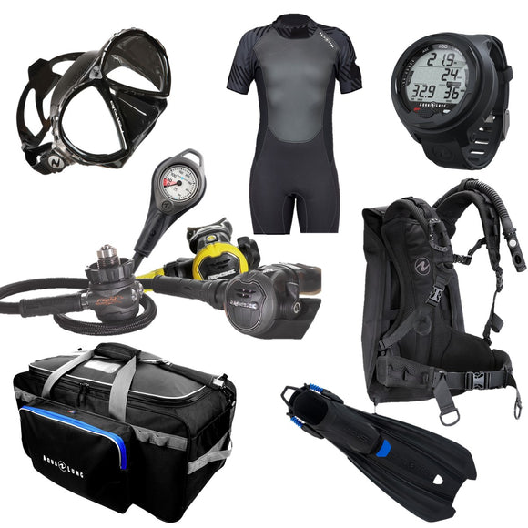 Ultimate Travel Dive Kit Package - Oyster Diving Equipment