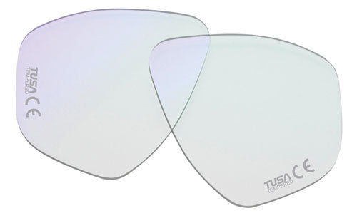 TUSA Prescription Minus Lens - Left, spherical correction - Oyster Diving Equipment