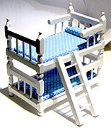 Bunk Bed with Ladder. AZG9313W