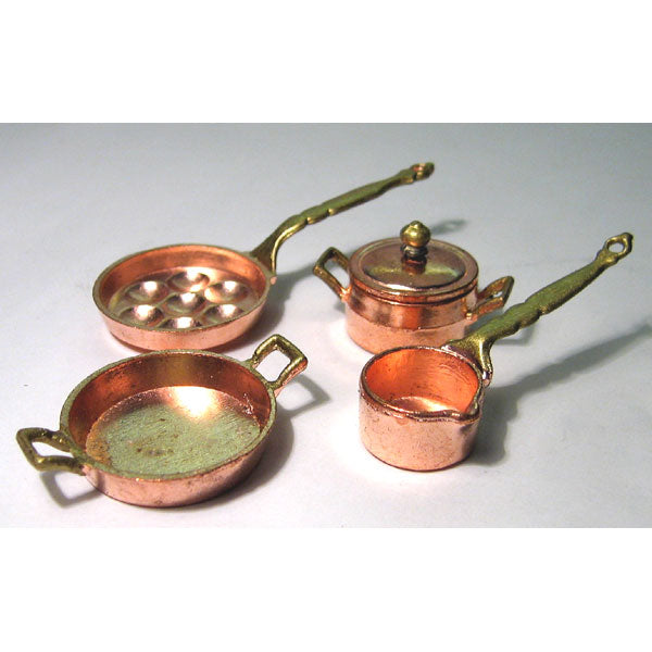 Copper Pan Set AZMA2258