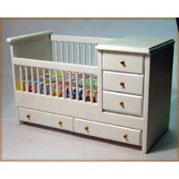 Crib with Drawers AZTT6400