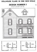 Dollhouse Plan No.1. DHM4376