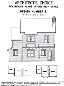 Dollhouse Plan No.2. DHM4377