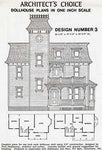 Dollhouse Plan No.3. DHM4378