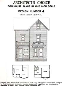 Dollhouse Plan No.4. DHM4379