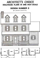 Dollhouse Plan No.5. DHM4380