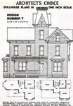 Dollhouse Plan No.7. DHM4382