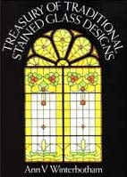 Treasury of Traditional Stained Glass Designs  DOV974