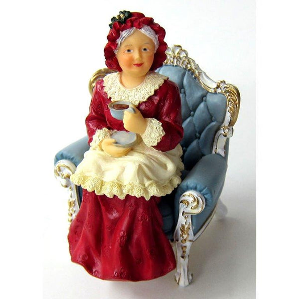 Mrs Santa Seated HW3049