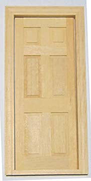 6 Panel Traditional Door HW6007