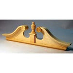Double Deerfield Pediment HW7172