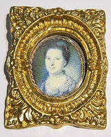 Gilt Frame and Picture. PIC1