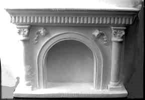 Arched Fireplace UMF4
