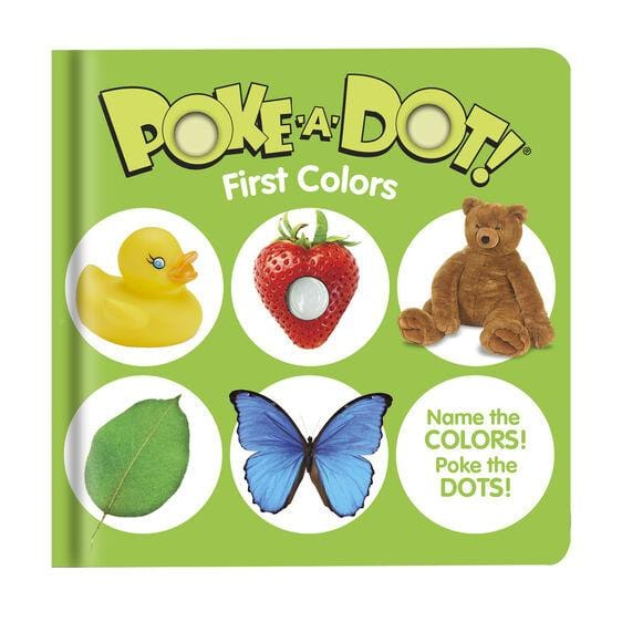 Melissa & Doug Poke-A-Dot Book First Colors