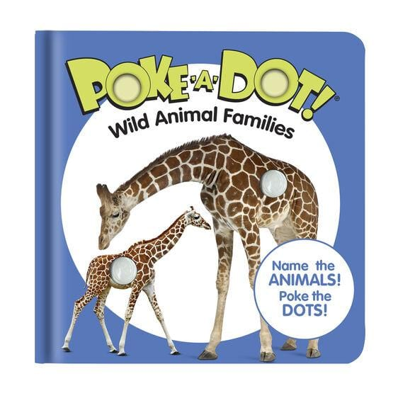 Melissa & Doug Poke-A-Dot Book Wild Animal Families