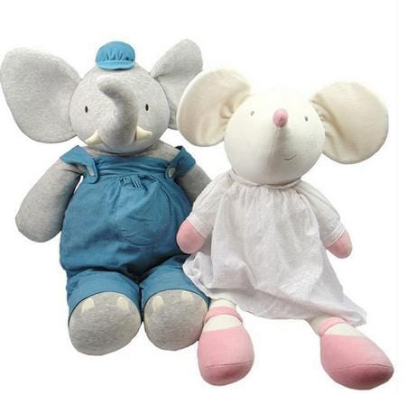 Meiya & Alvin Display Size Plush Toy - Alvin the Elephant