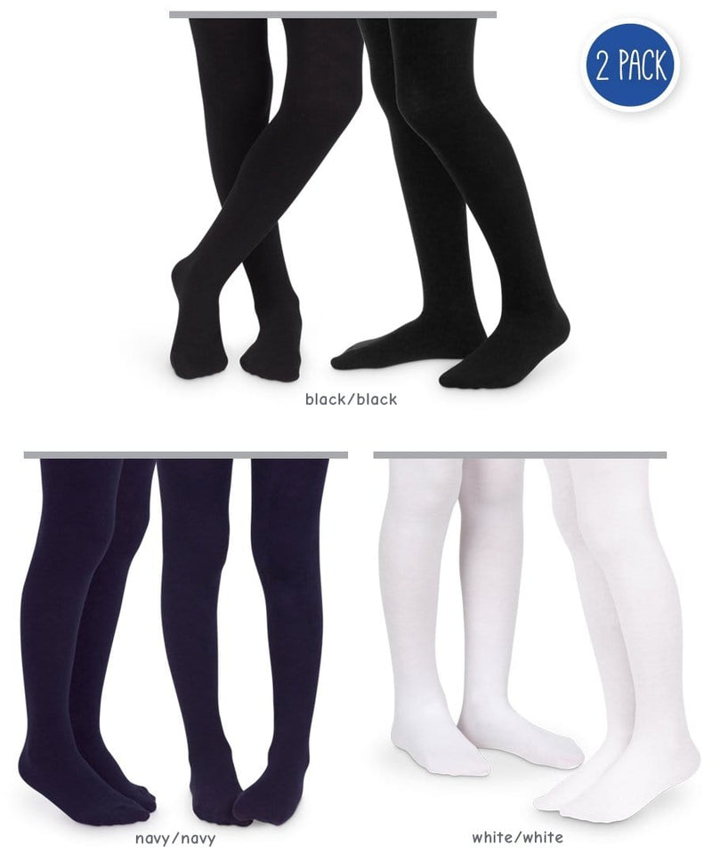 Jefferies Classic Cotton Tights - 2 Pack