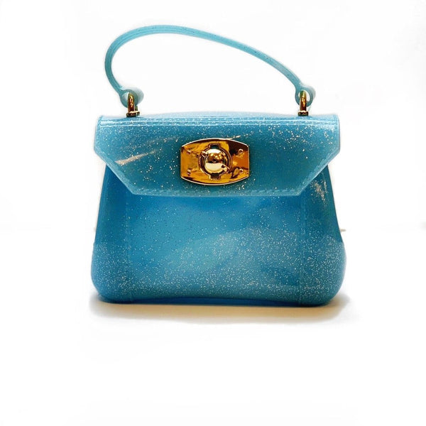 Amiana Jelly Bag - Blue Metallic