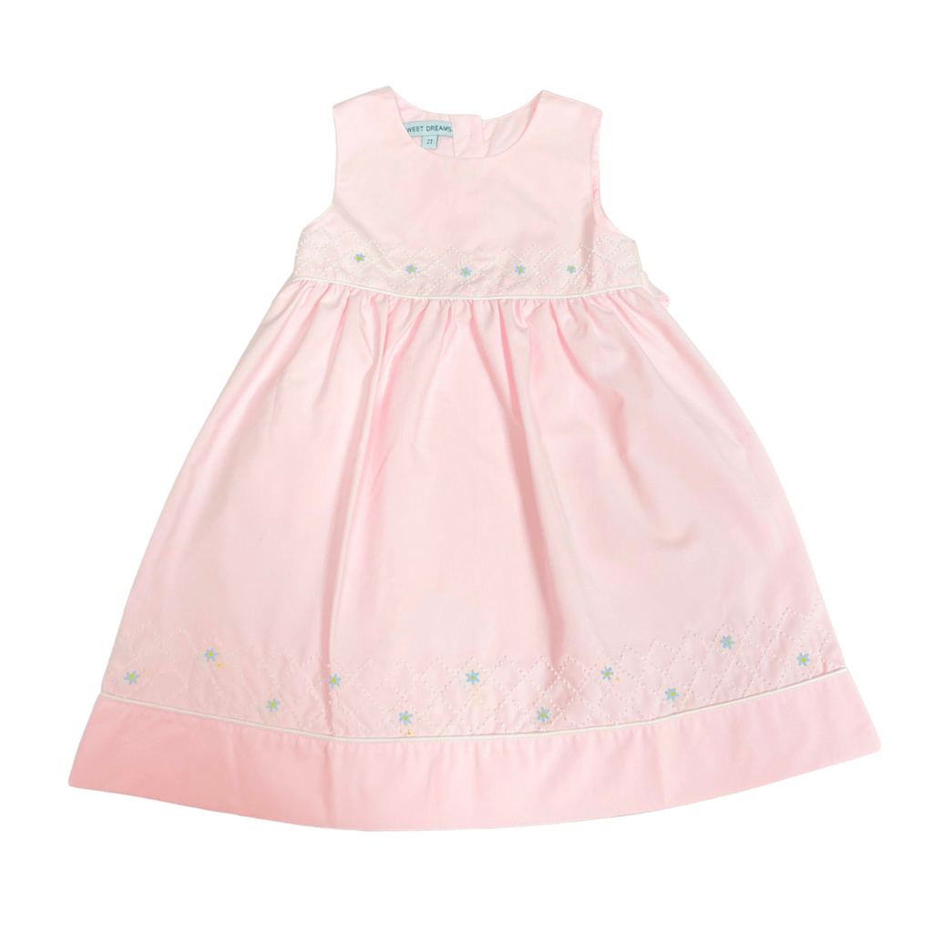 Sweet Dreams Pink Square Garden Dress