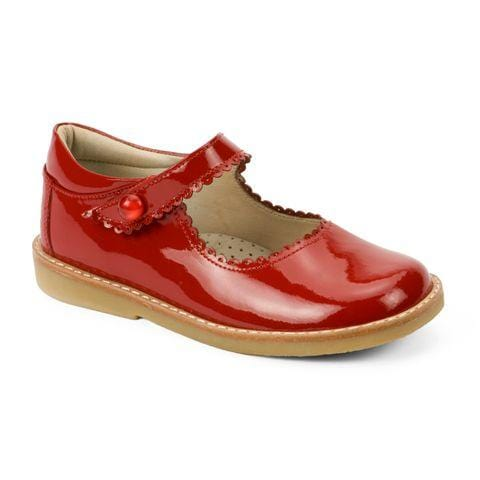 Elephantito Red Patent Mary Jane Shoes