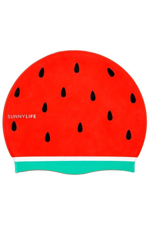 Sunnylife Watermelon Swimming Cap