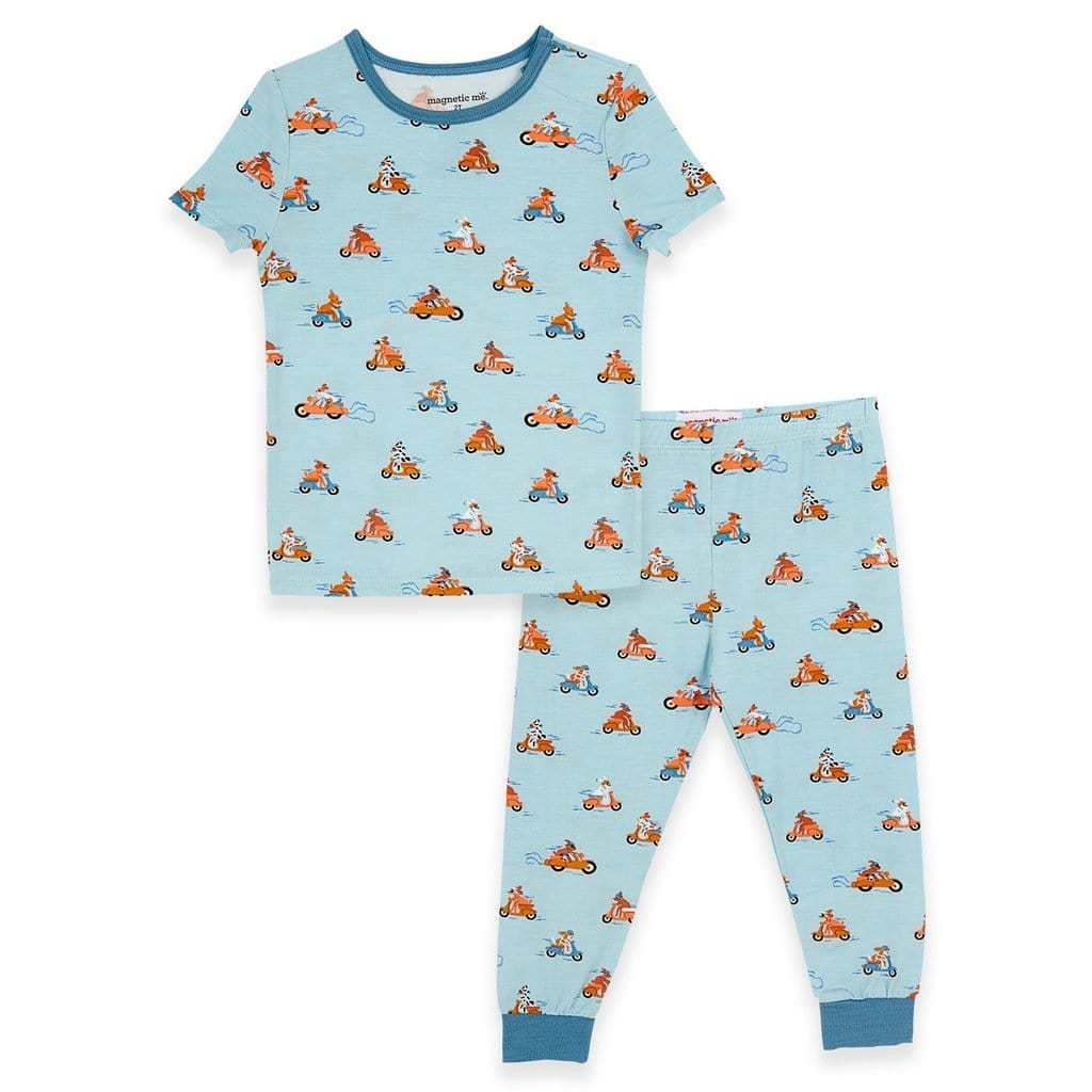 Magnetic Me Easy Rider Modal Magnetic Two-Piece Toddler Pajamas