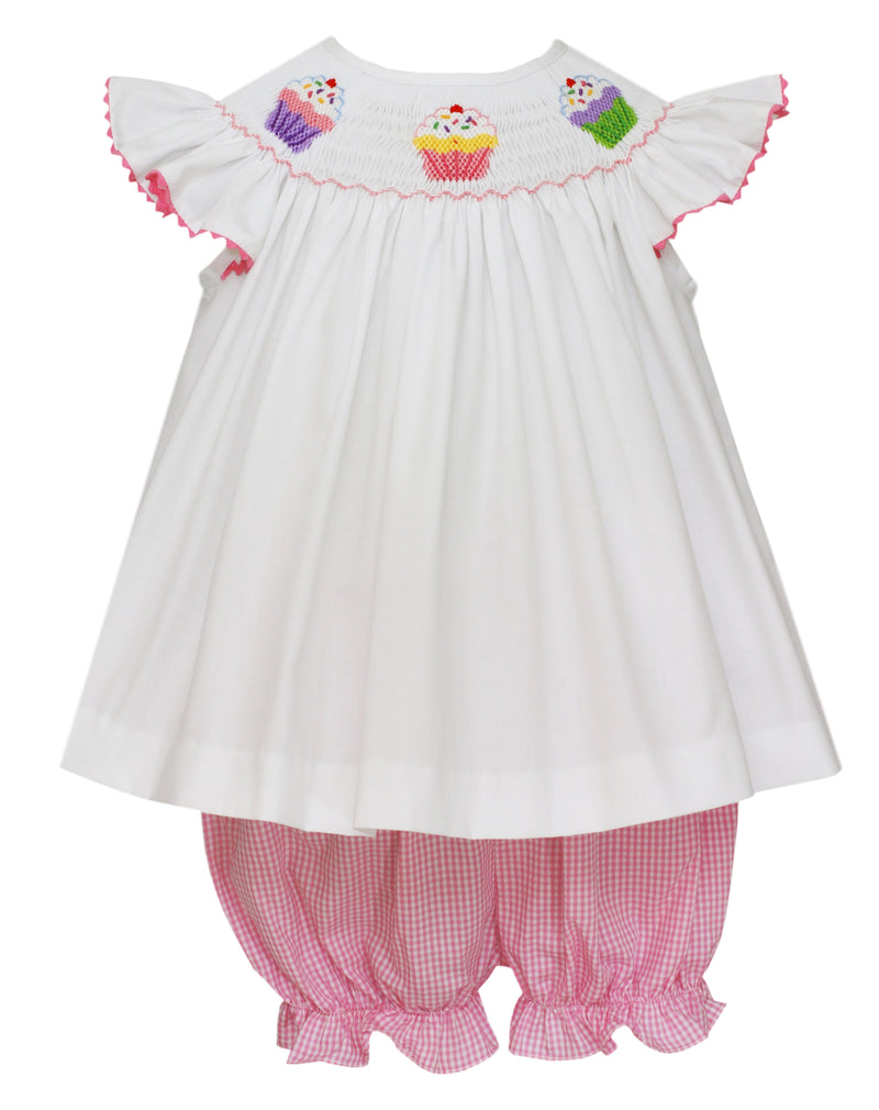 Velani Angel Wing Bloomer Set- Cupcakes