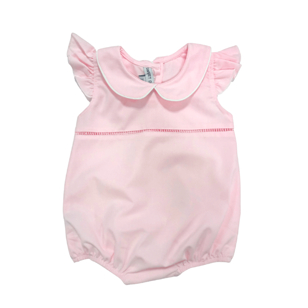 Sweet Dreams Pink Hemstitch Girl Bubble