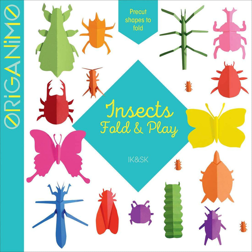 Insects Fold and Play Origami Book