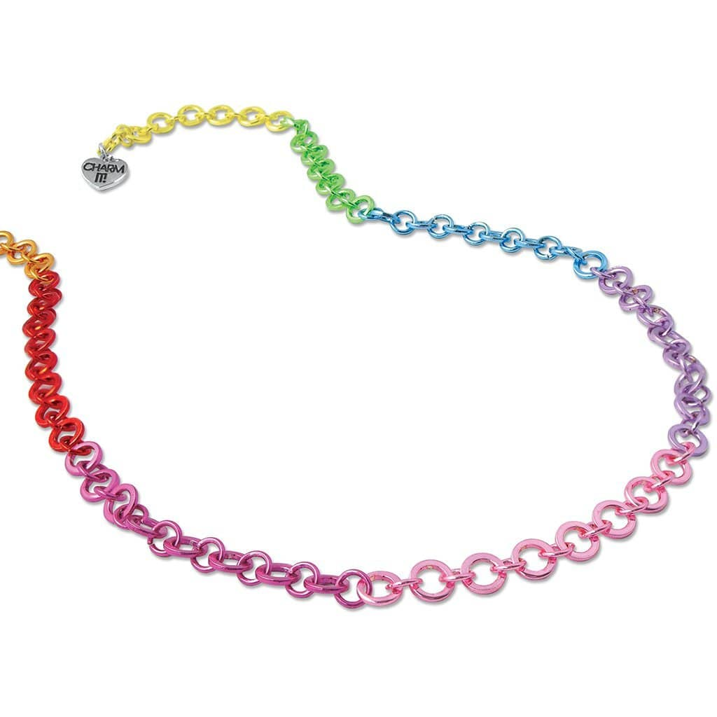 Charm It Rainbow Chain Necklace