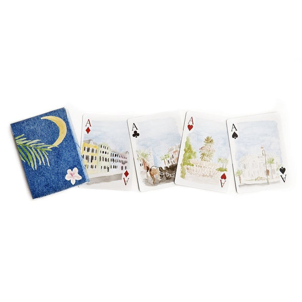 Over the Moon Charleston Playing Cards