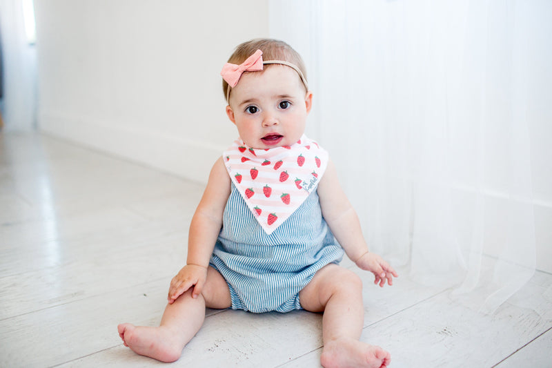 Copper Pearl Georgia Baby Bandana
