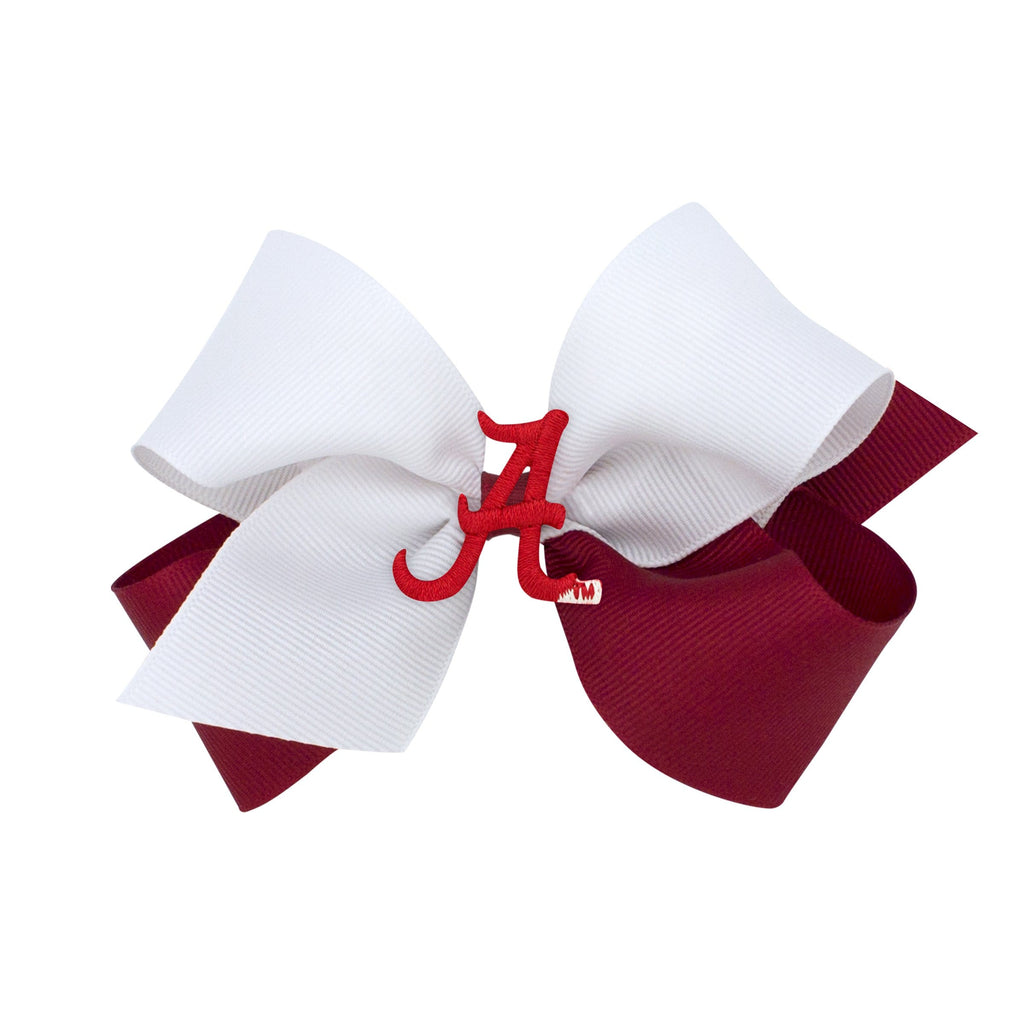 Wee Ones Alabama Game Day Bow