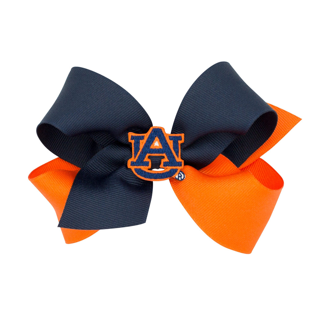 Wee Ones Auburn Game Day Bow