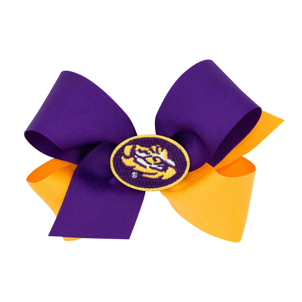 Wee Ones LSU Game Day Bow