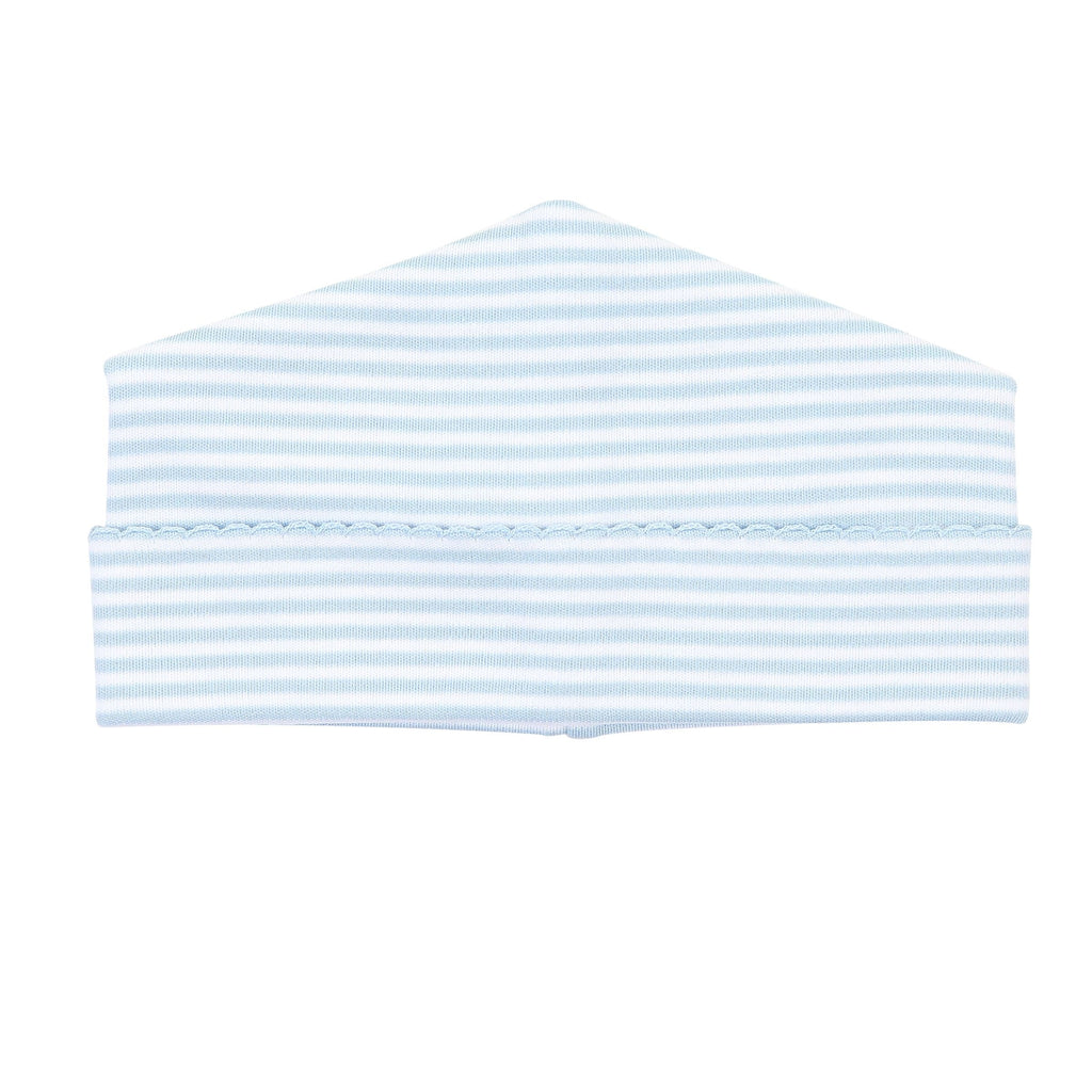 Magnolia Baby Striped Essentials Hat (NB)