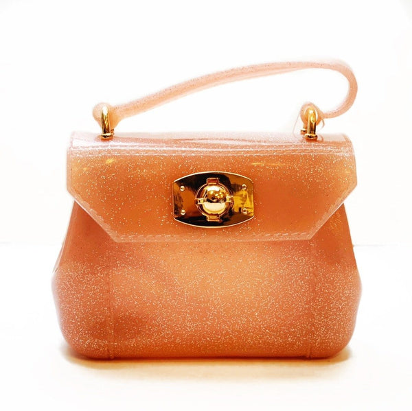 Amiana Jelly Bag - Pink Metallic