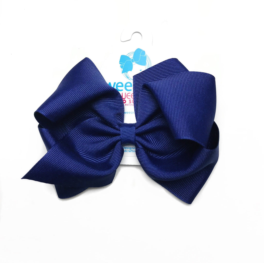 Wee Ones Royal Navy Bow