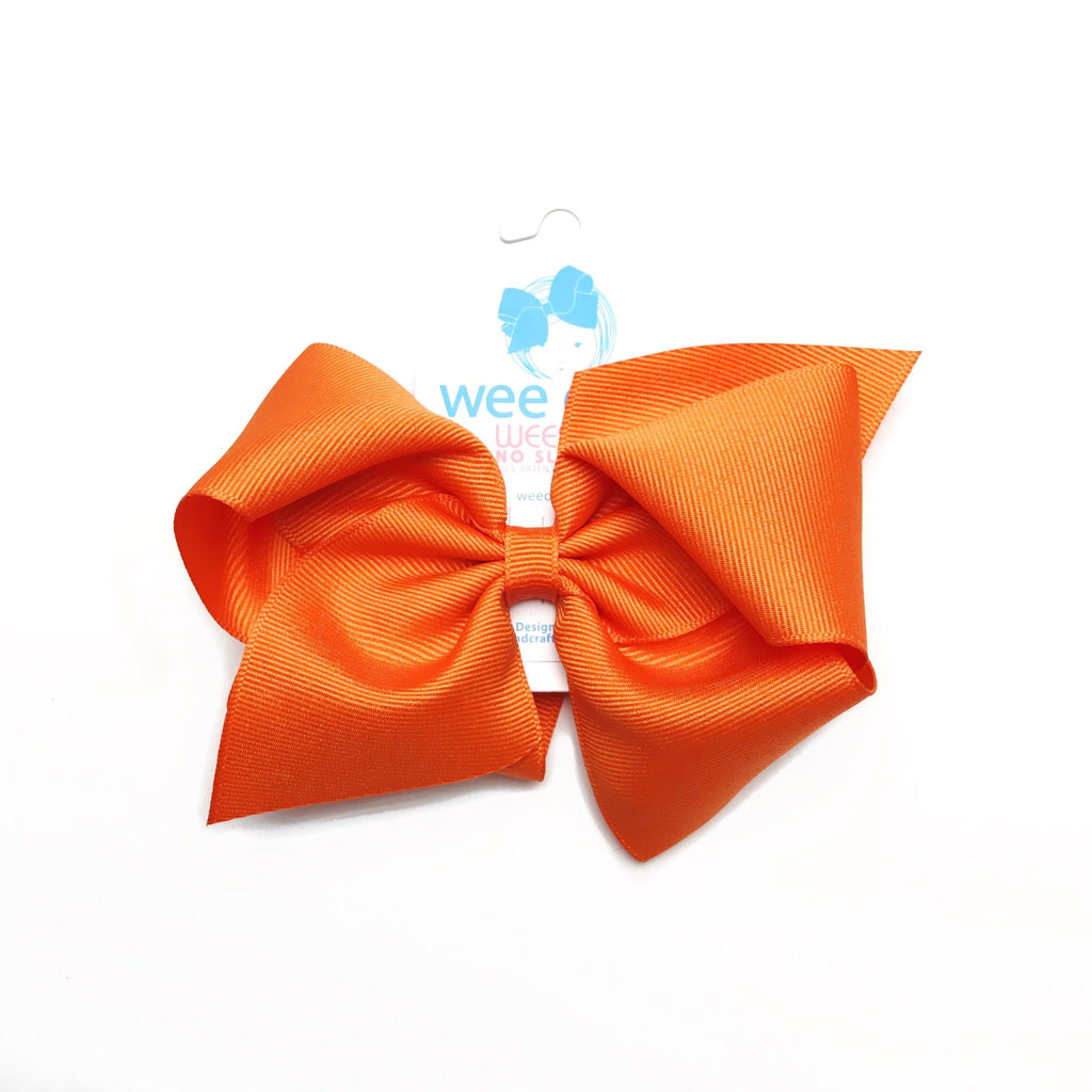 Wee Ones Orange Bow