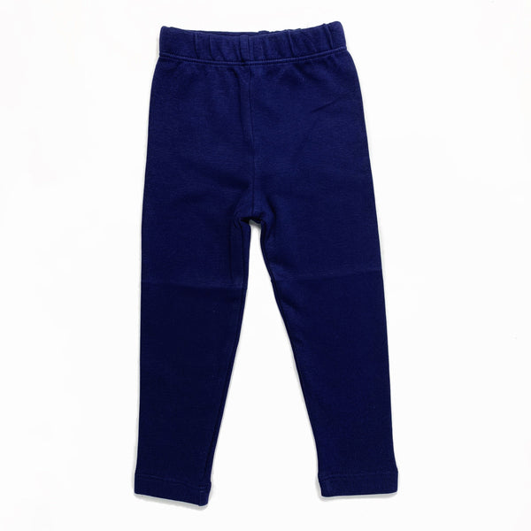 Luigi Kids Dark Royal Blue Straight Leggings