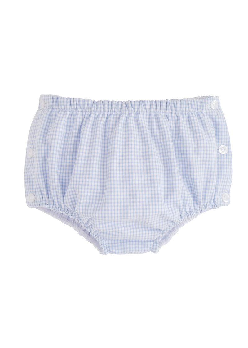 Little English Jam Panties - Light Blue Gingham