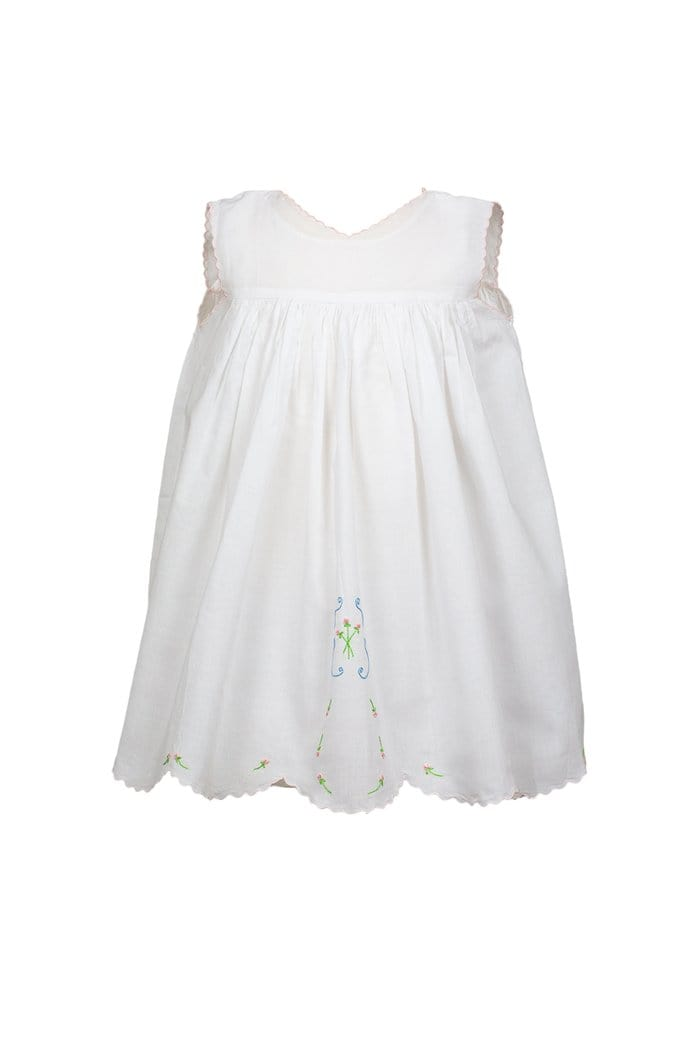 The Proper Peony Lucinda Heirloom Dress - Sleeveless with Chemise