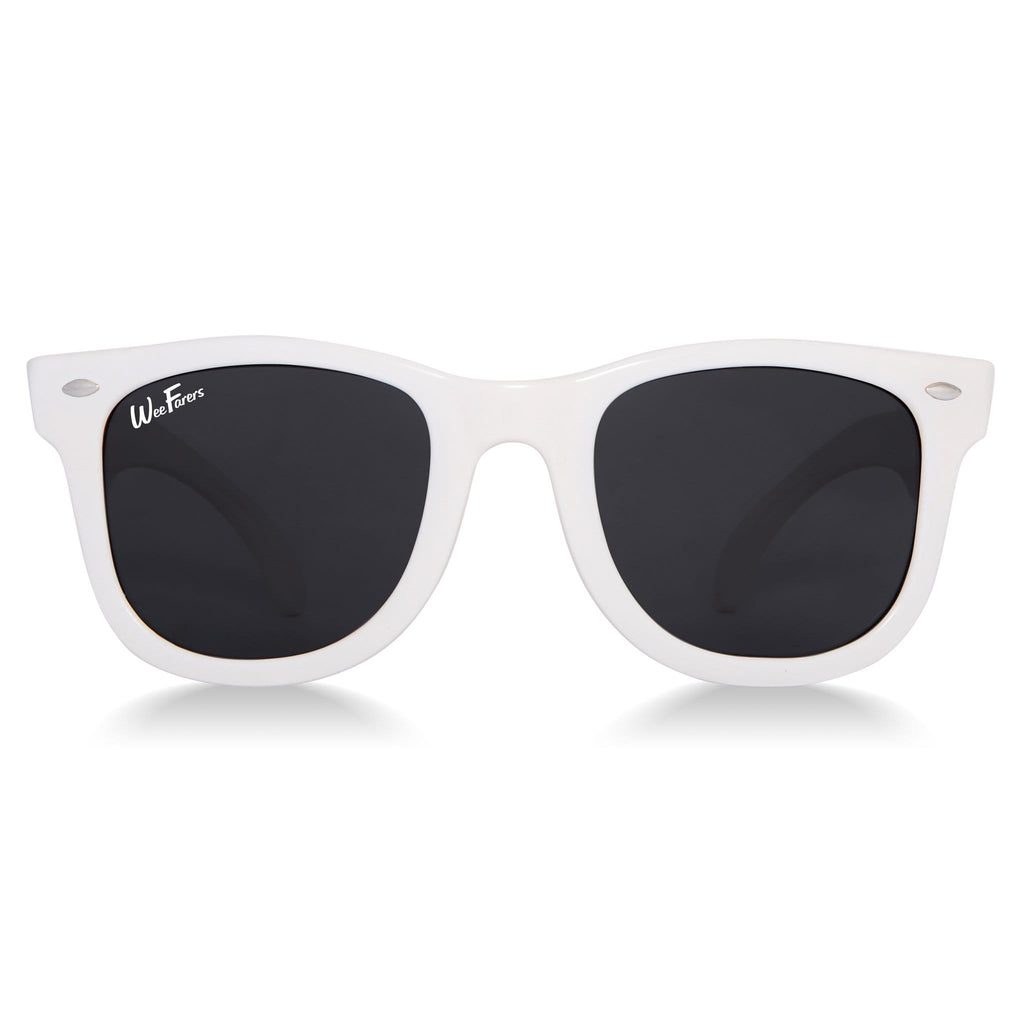 WeeFarers Original Sunglasses - White