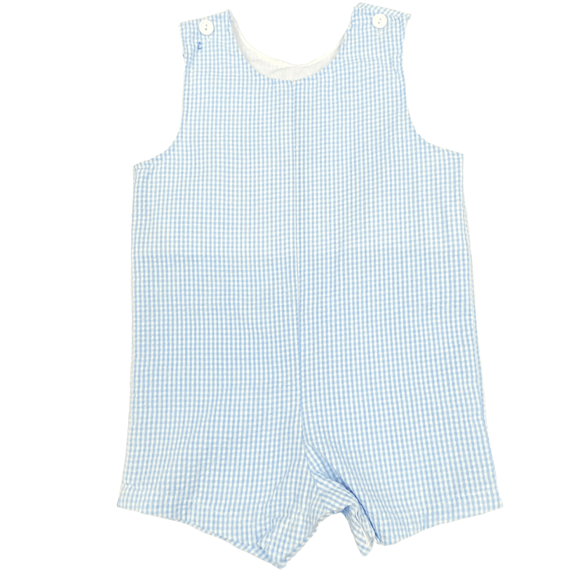 Funtasia Too  Shortall - Blue Seersucker